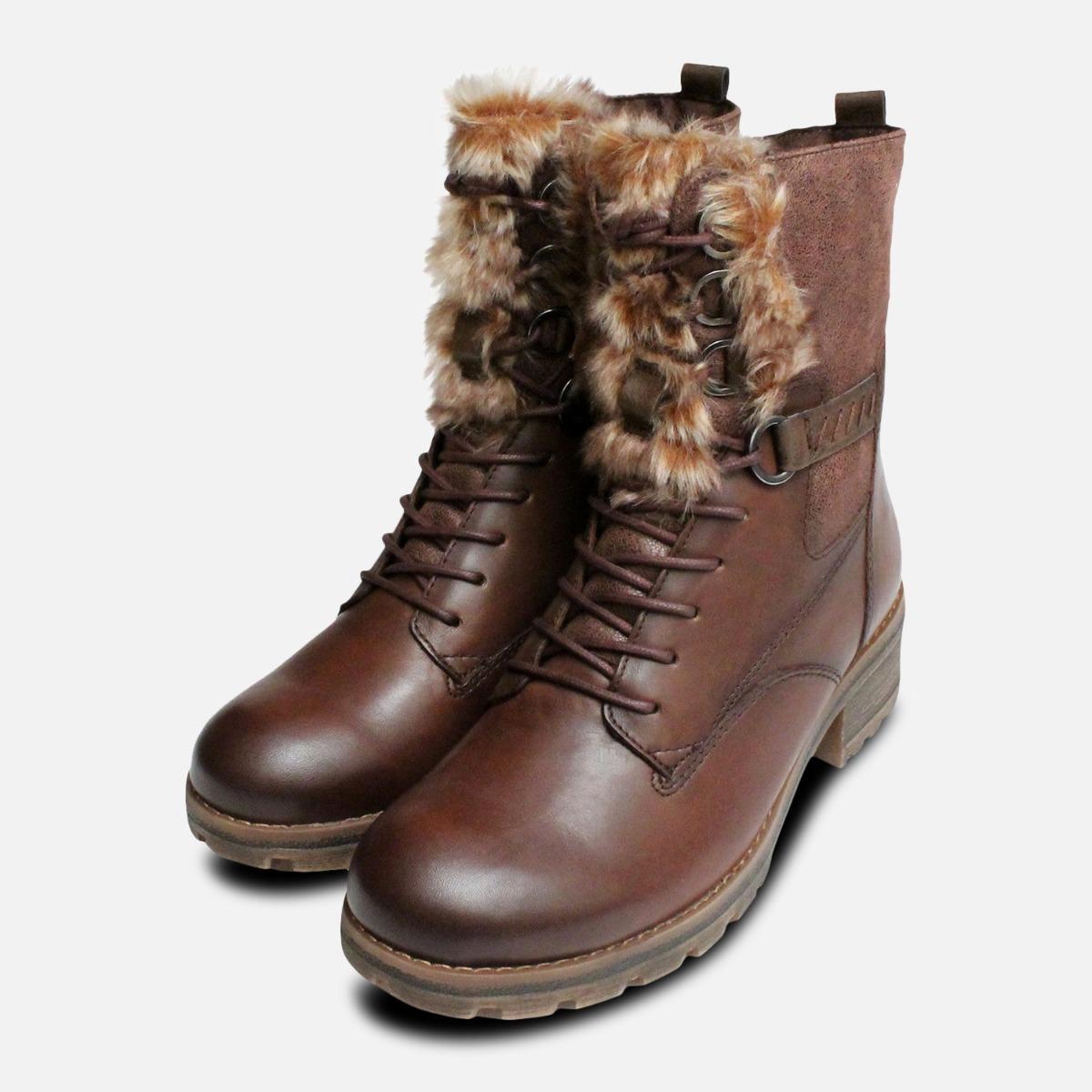 tamaris leopard boots