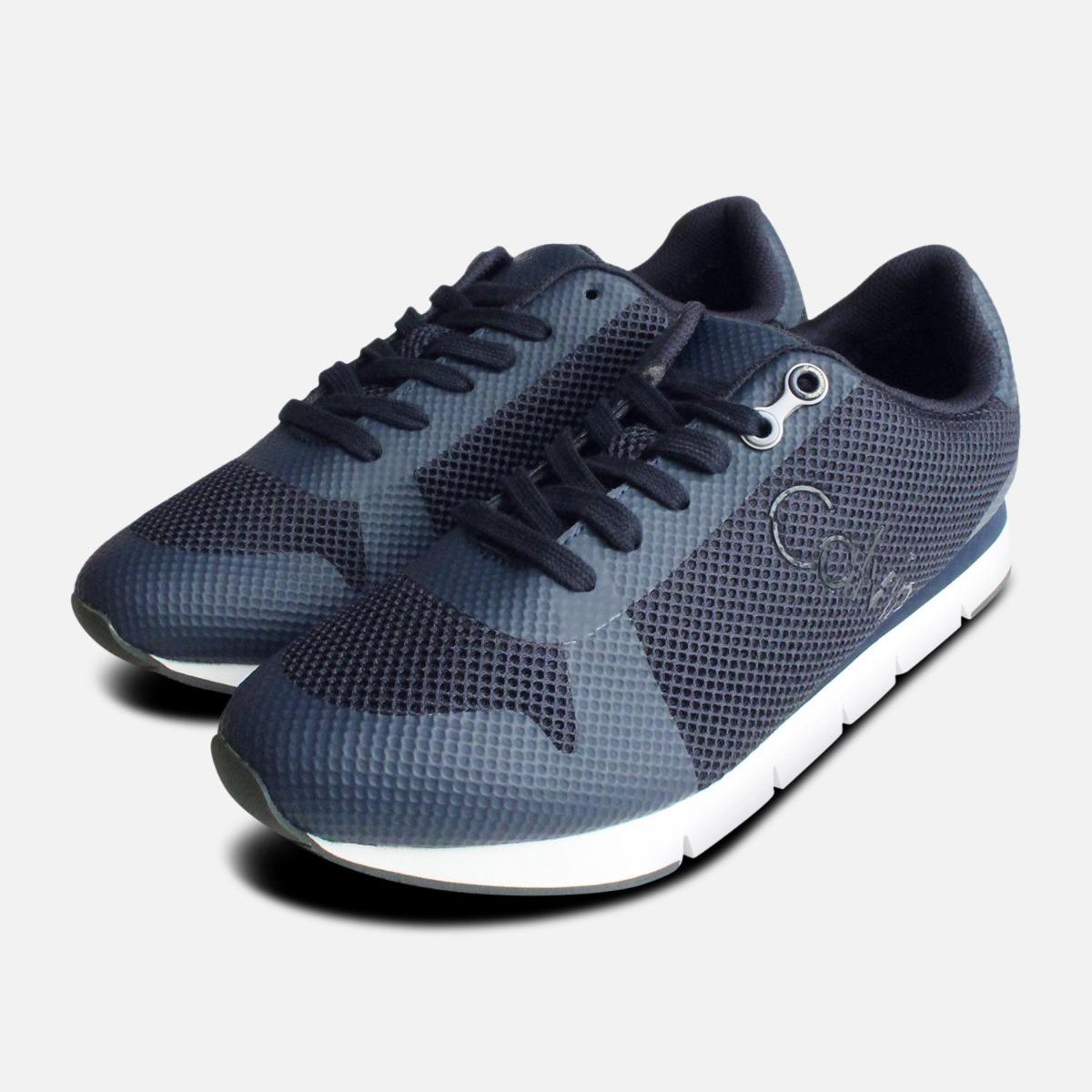 Navy Blue Calvin Klein Jacques Sneakers