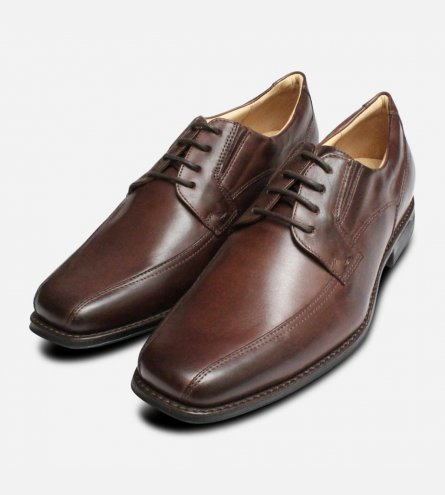 Formal Anatomic Formosa Lace Up Shoes in Brown