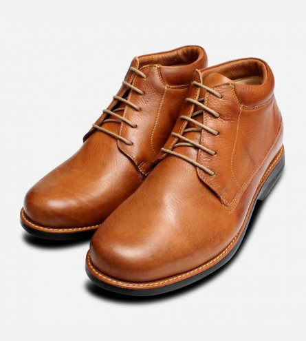 Round Toe Furnas Lace Up Chukka Boots by Anatomic Shoes