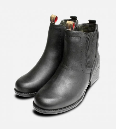 Barbour Weatherproof Black Ladies Rimini Chelsea Boots