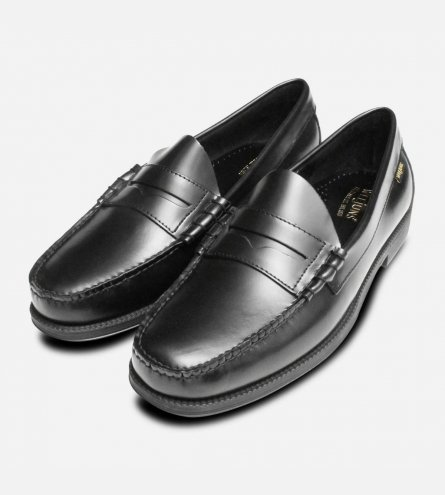 6b0105f97c7 Formal Black Larson Bass Weejun II Loafers with Rubber Sole