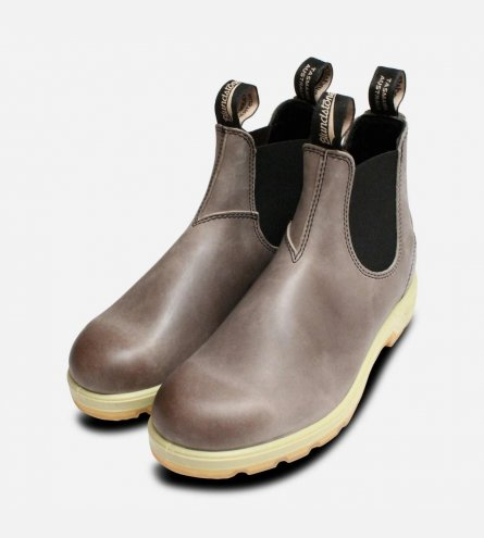 Round Toe Blundstone 1434 Steel Rub Off Chelsea Boots