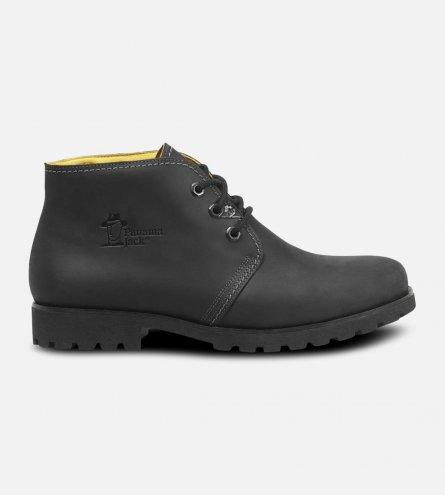 f9c38a22581b1c Mr Panama Jack Black Waxy Waterproof Havana Joe Chukka Boots