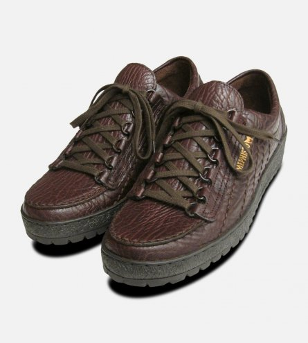 Mens Mephisto Shoes Rainbow in Brown