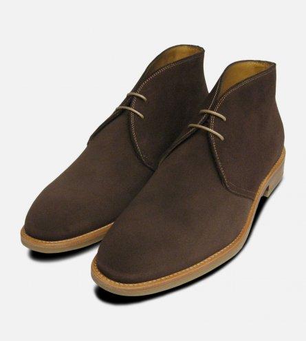 John White Westbury 4 Mens Brown Suede Chukka Boots