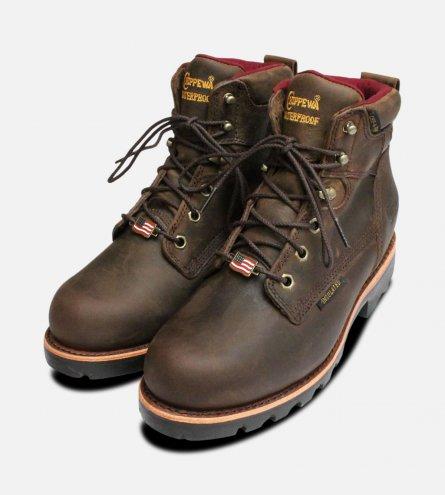 """Chippewa Insulated Waterproof Vibram 6"""" Boots"""
