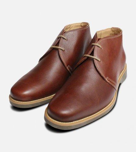 Chestnut Brown Anatomic & Co Chukka Boot