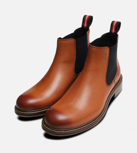Thomas Partridge London Tan Cranwell Chelsea Boots