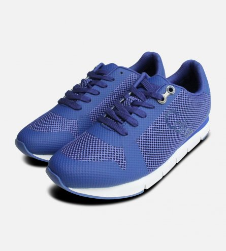 Cobalt Blue Jacques Calvin Klein Trainers for Men