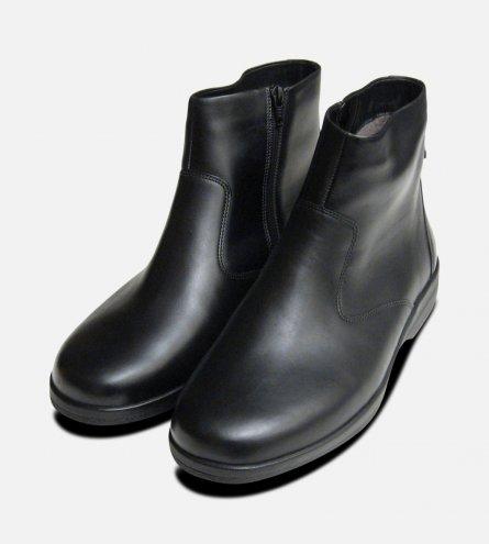 Mephisto Jasko Sheepskin Fur Zip Mid Boot