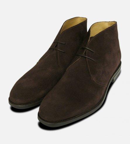 John White Westbury 3 Brown Suede Boots