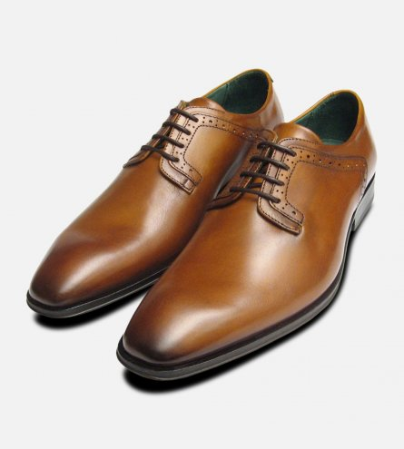 Plain Toe Lace Up Designer Shoe by Exceed Footwear