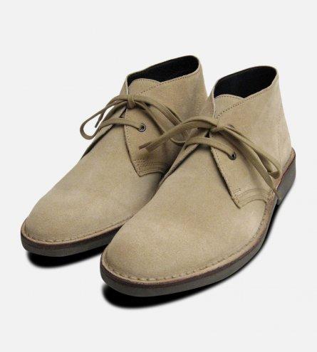 Original Sand Suede Mens Italian Desert Boots