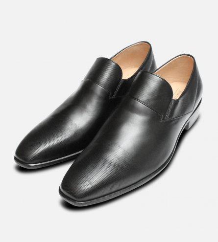 Formal Black Anatomic & Co Prime Slip On Loafer