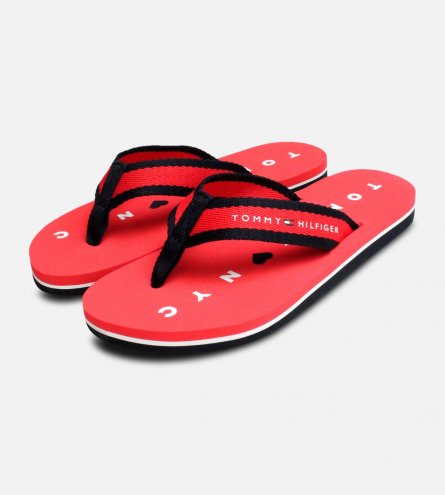 Mellie Flip Flop Sandals in Red by Tommy Hilfiger Woman