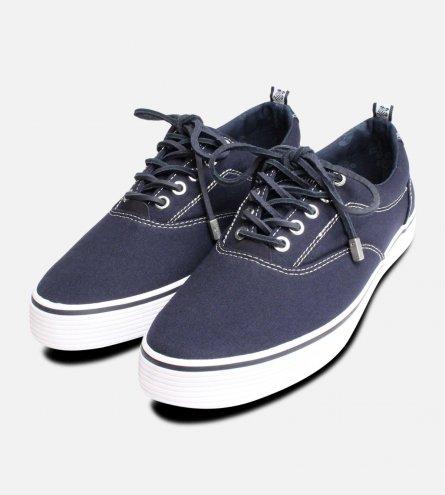 Vilebrequin Designer Navy Cupsole Shoe