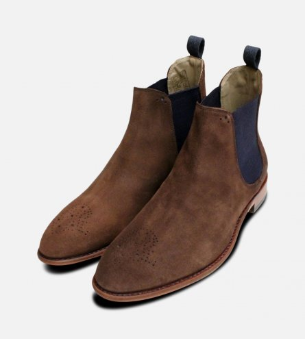 Chocolate Brown Oliver Sweeney Chelsea Boot Brogues