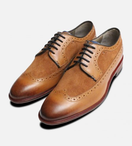 Ossington Longwing Brogues by Oliver Sweeney Shoes