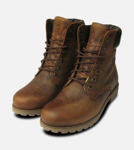 Panama Jack Original Mens Brown Bark Boots