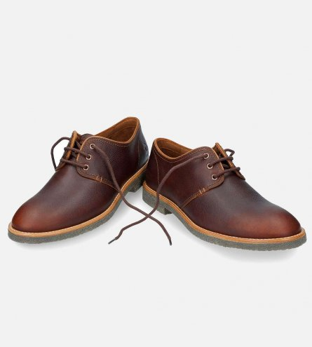 8ec7eee4401d95 Panama Jack Mens Goodman Lace Up Shoes in Chestnut