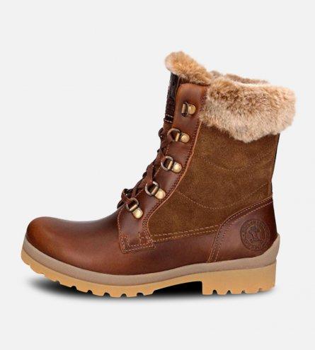 Waxy Brown Panama Jack Ladies Tuscani Boots