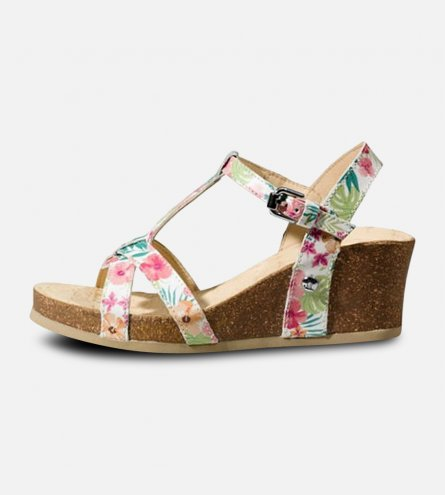 T Bar Panama Jack Janela Tropical Designer Sandals by Havana Joe