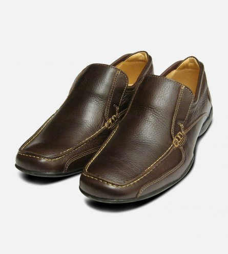 Comfort Casual Shoes in Dark Brown Anatomic Co