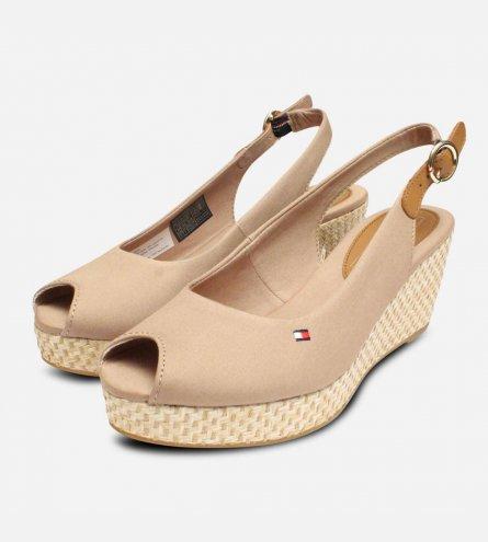 a9159cff5 Tommy Hilfiger Womens Elba Cobblestone Sling Back Sandals