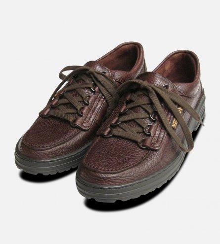 Wanda in Dark Brown by Mephisto Shoes