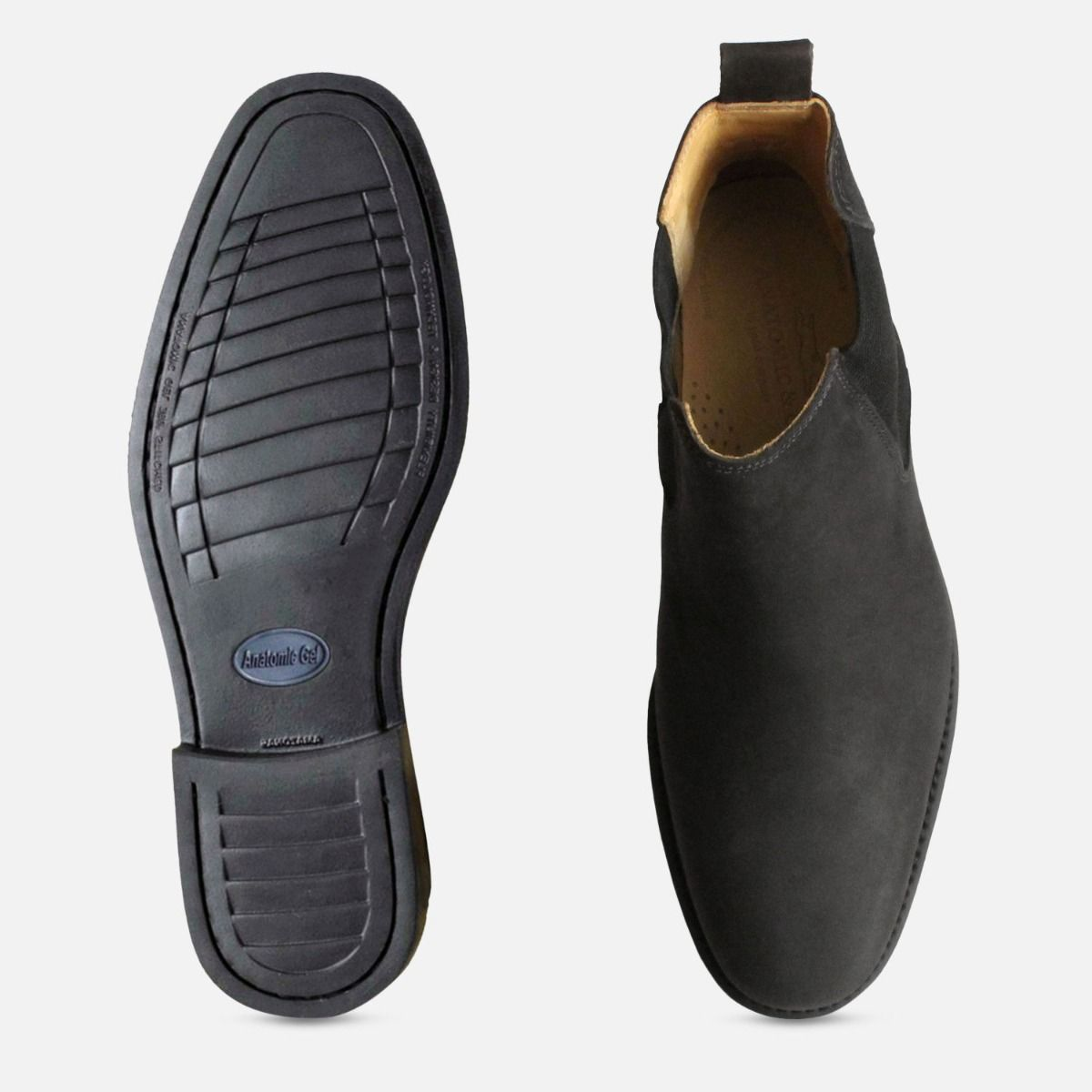 Matt Black Mustang Chelsea Boots