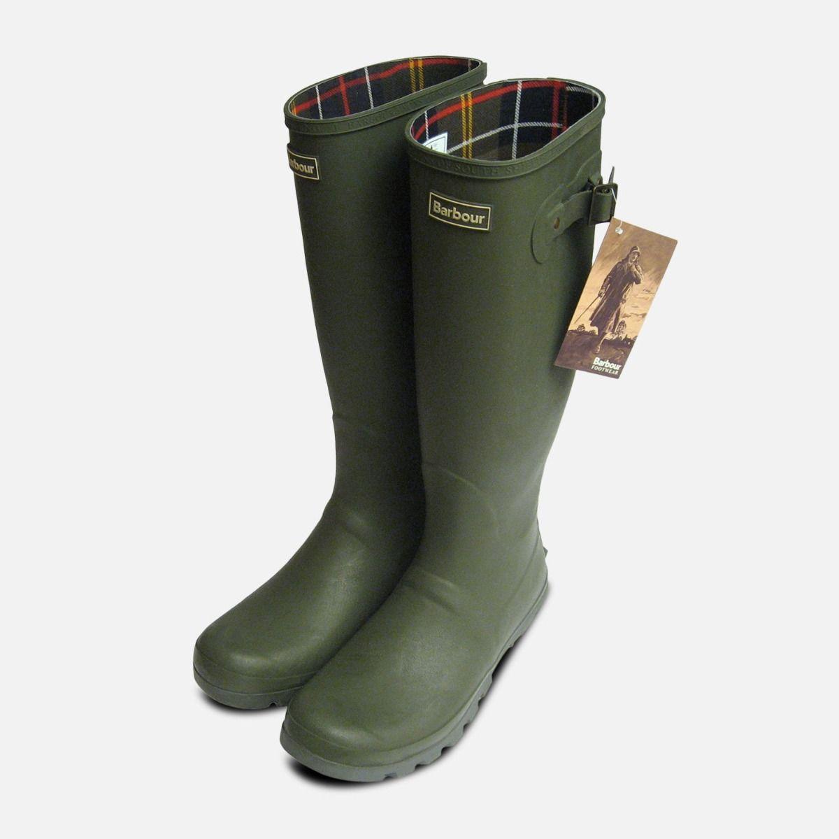 Barbour Mens Olive Green Waterproof
