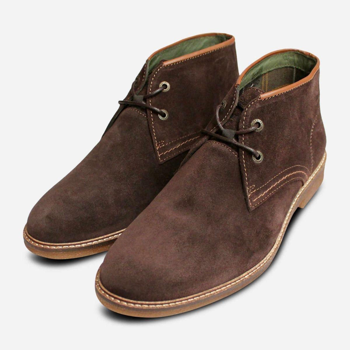Barbour Kalahari 3 Mens Lace Up Boots