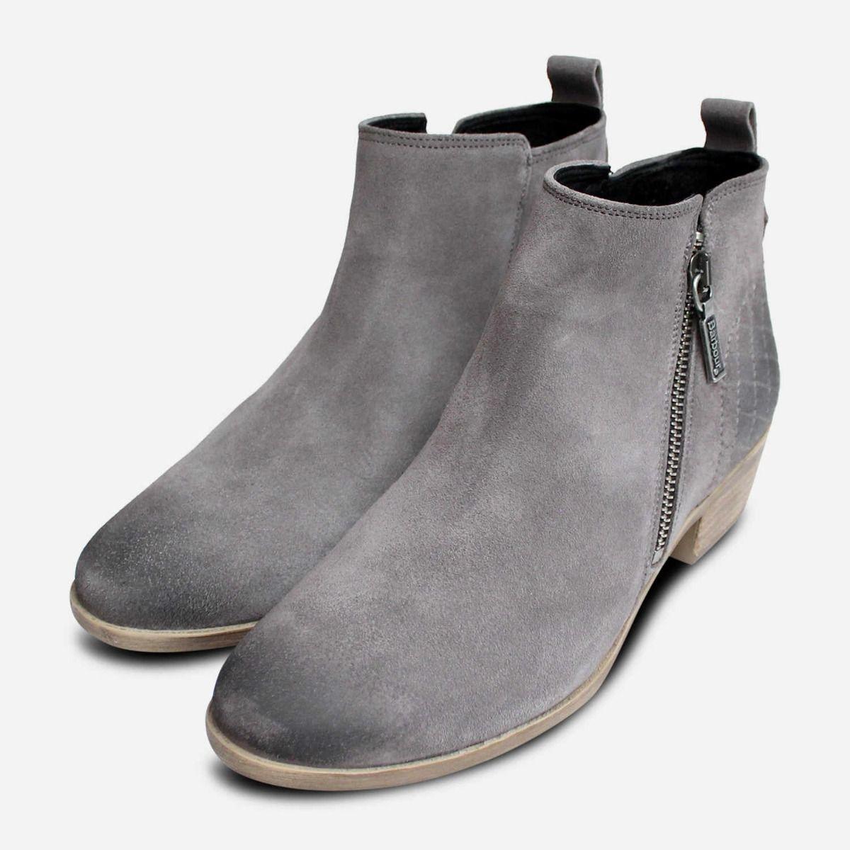 Barbour Designer Ankle Zip Boots in