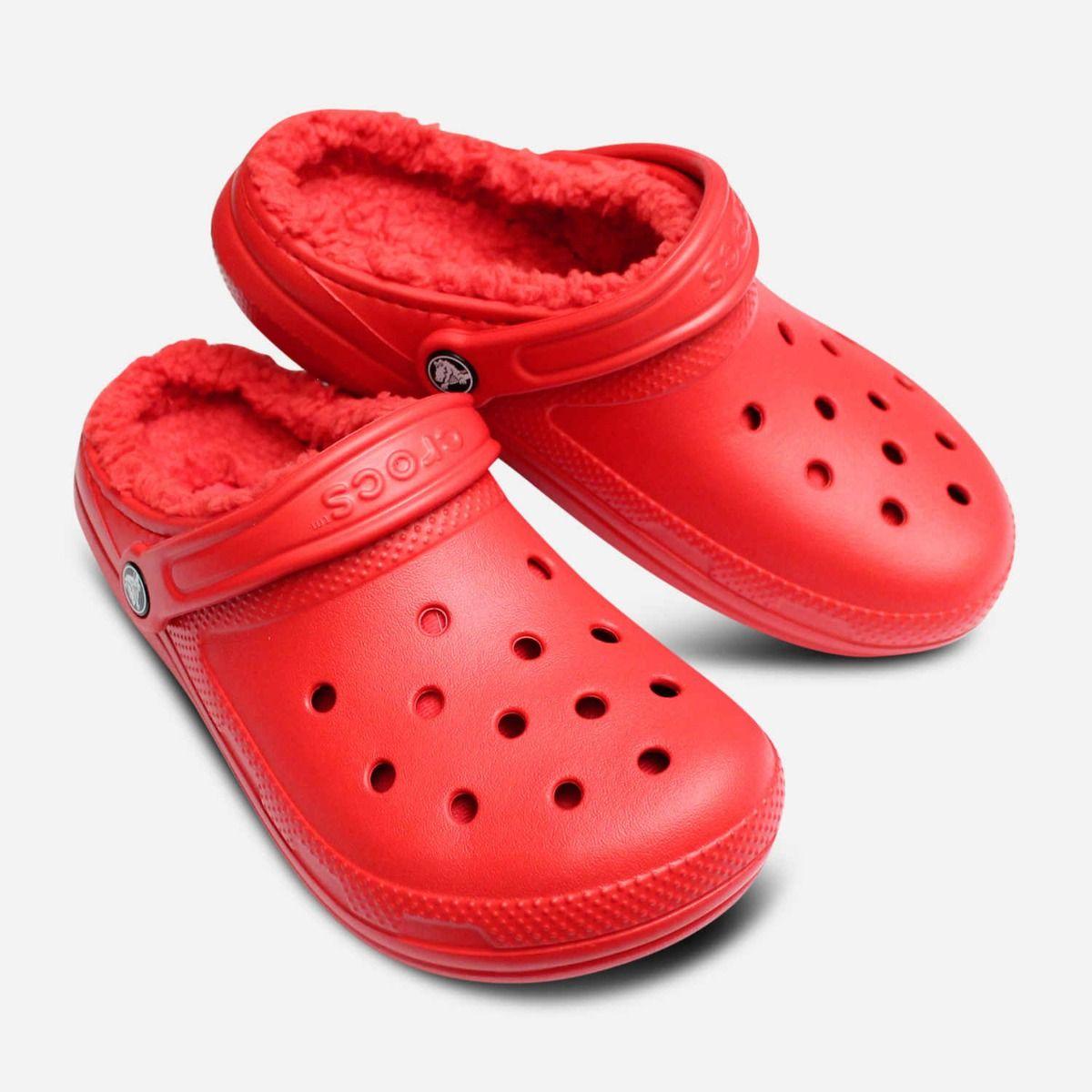 Classic Warm Lined Crocs Clog for Women
