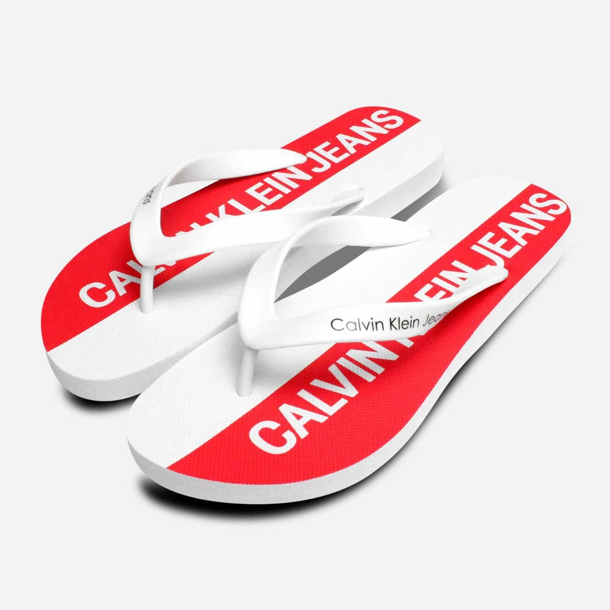 Calvin Klein Mens Errol Flip Flops in