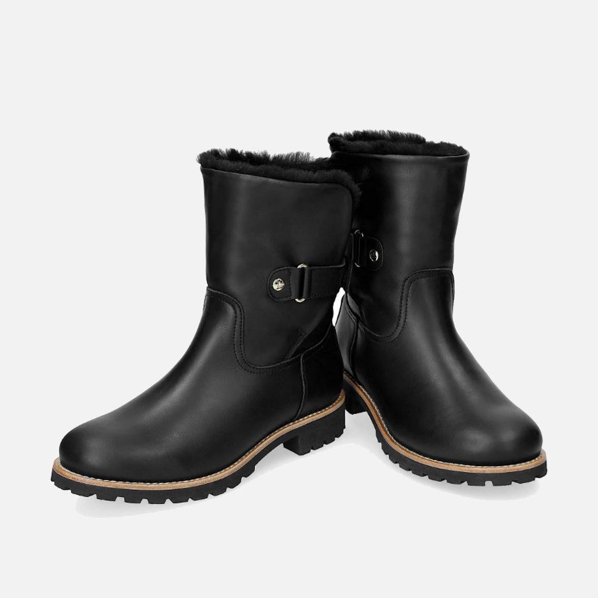 Luxury Black Panama Jack Felia Boots