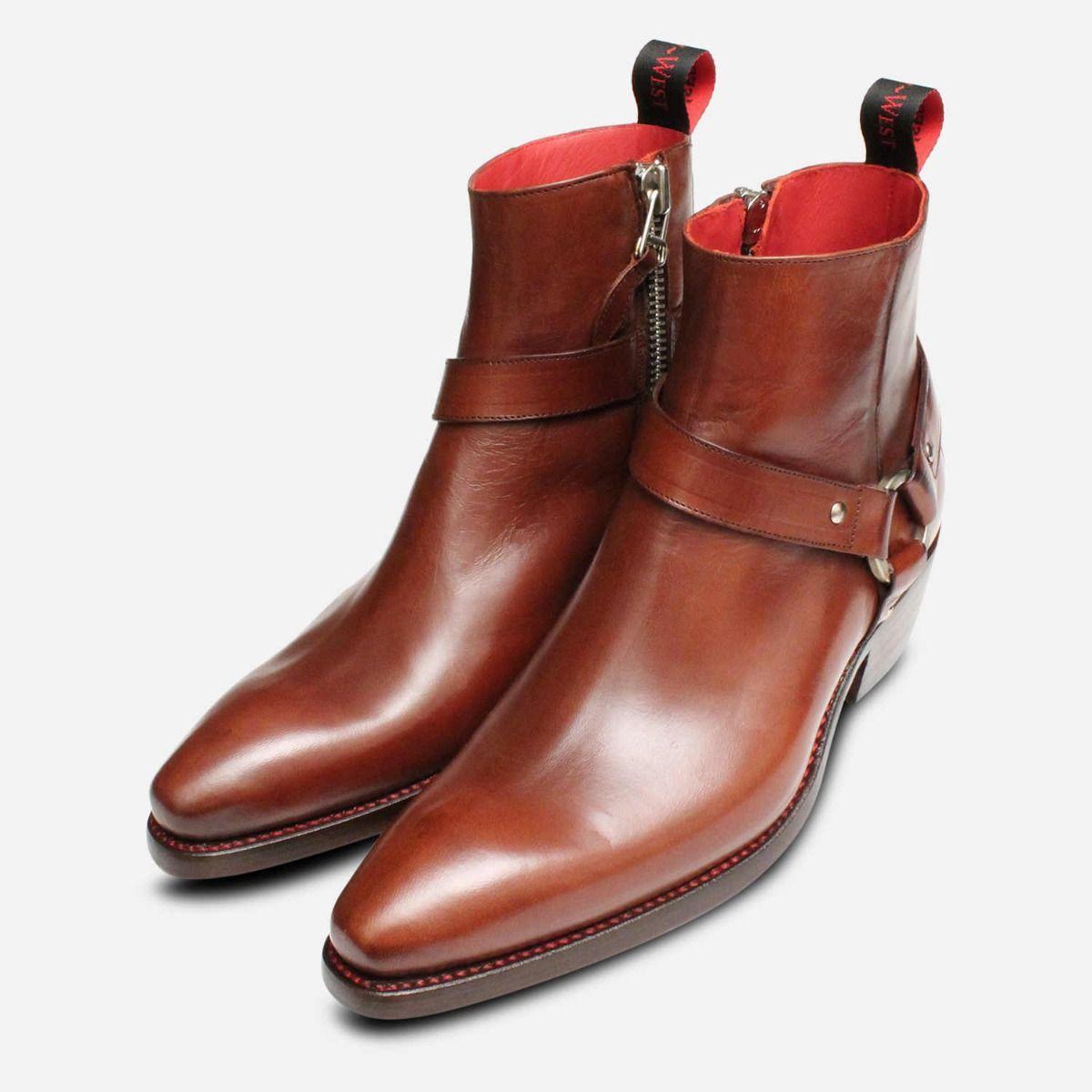 Premium Jailbreak Cuban Heel Zip Boots