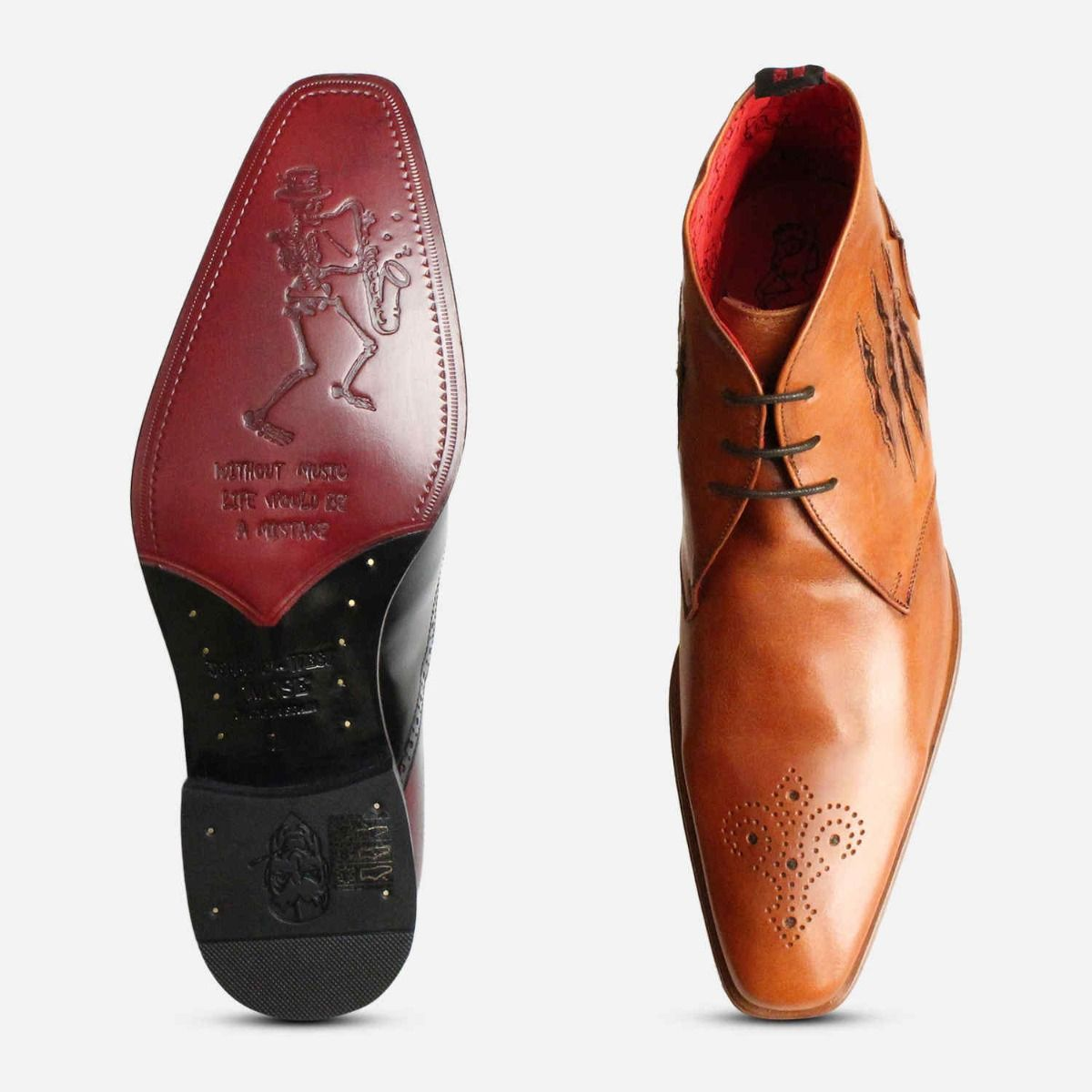 Slash Jeffery West Brogue Chukka Boots