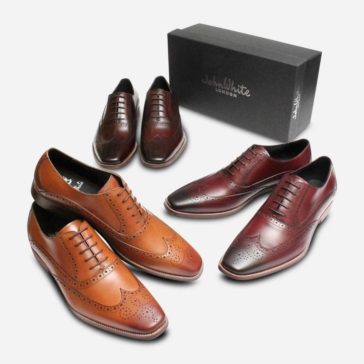 Tan by John White Shoes