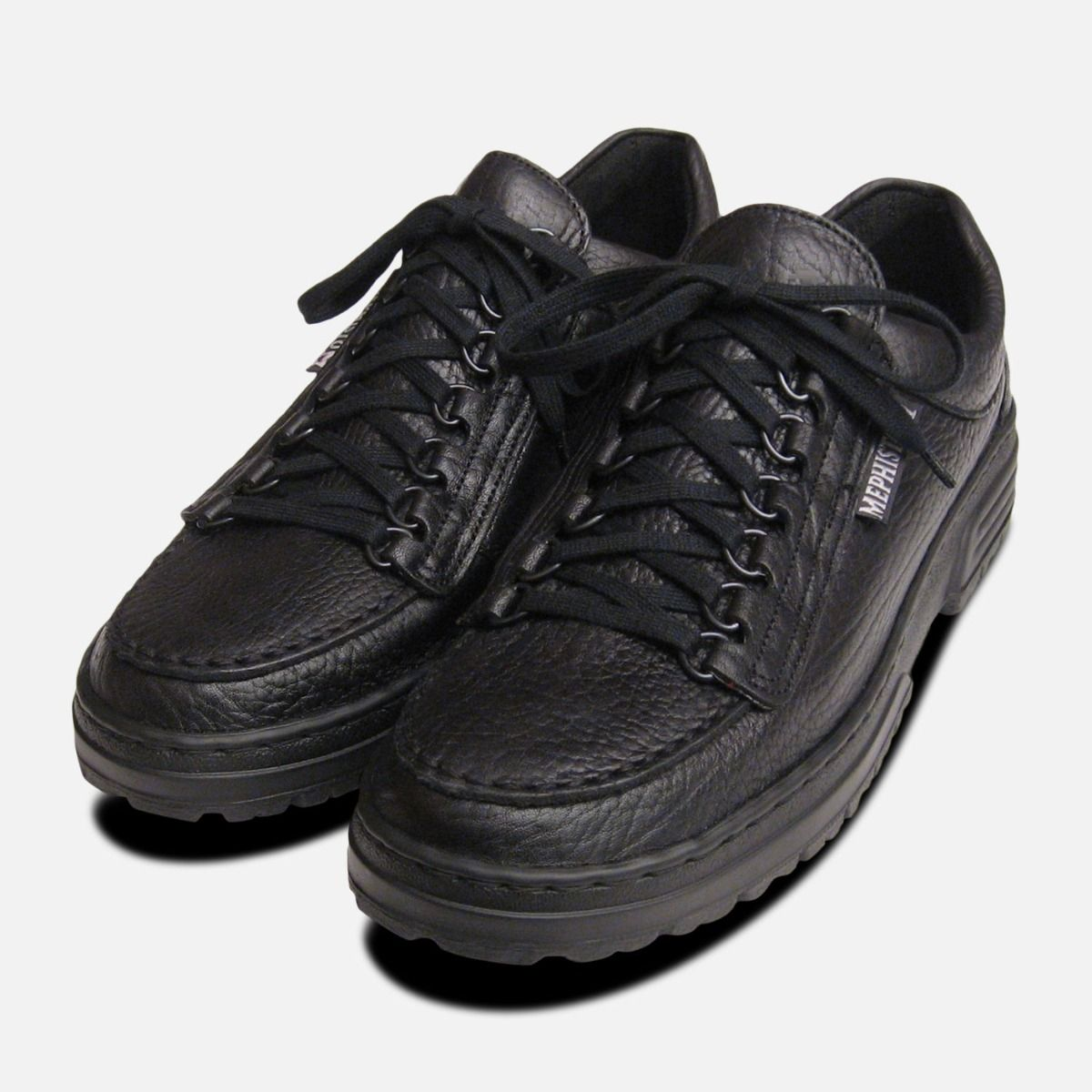 Mens Mephisto Shoes Rainbow in Black
