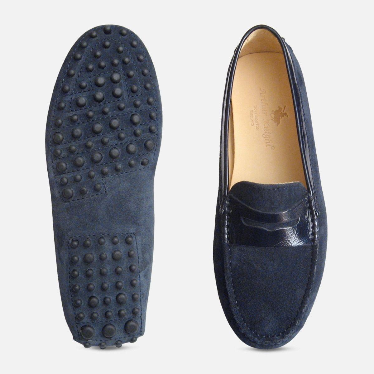 Navy Blue Suede \u0026 Patent Arthur Knight
