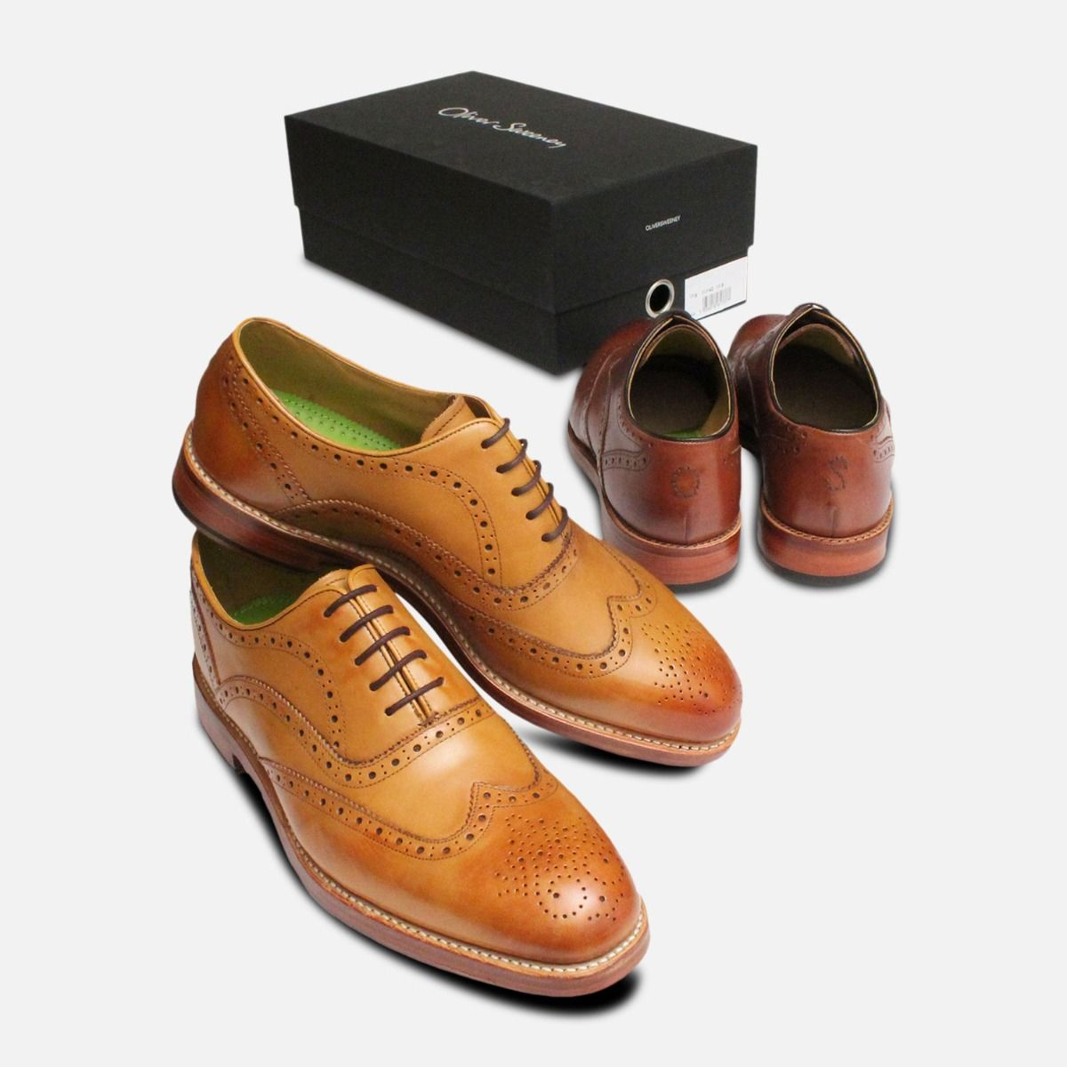 Oliver Sweeney Wingcap Oxford Brogues