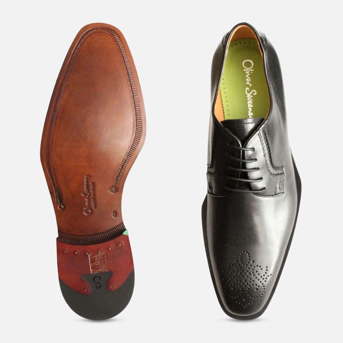 Oliver Sweeney Shoes Black Italian