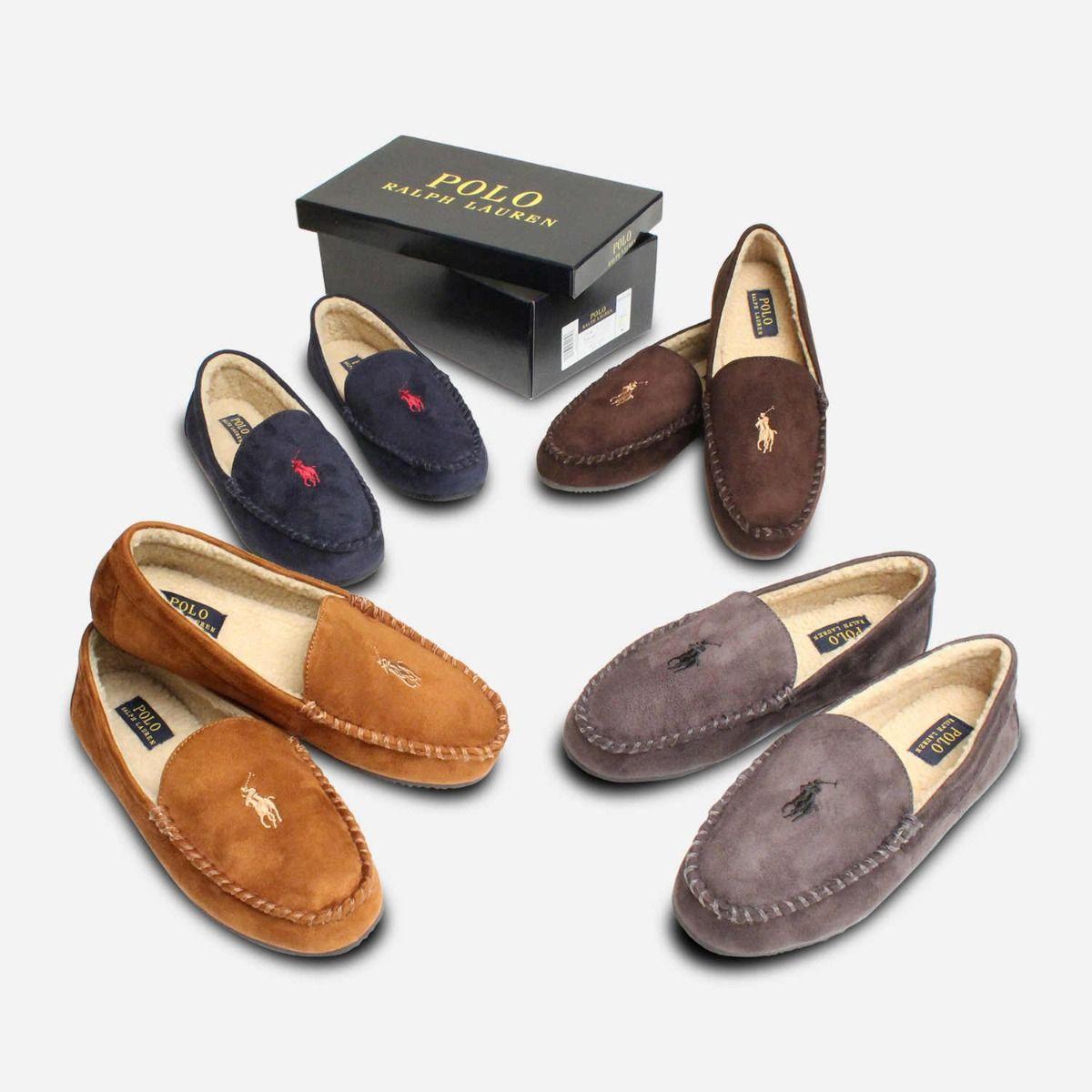 Ralph Lauren Polo Mens Slippers in