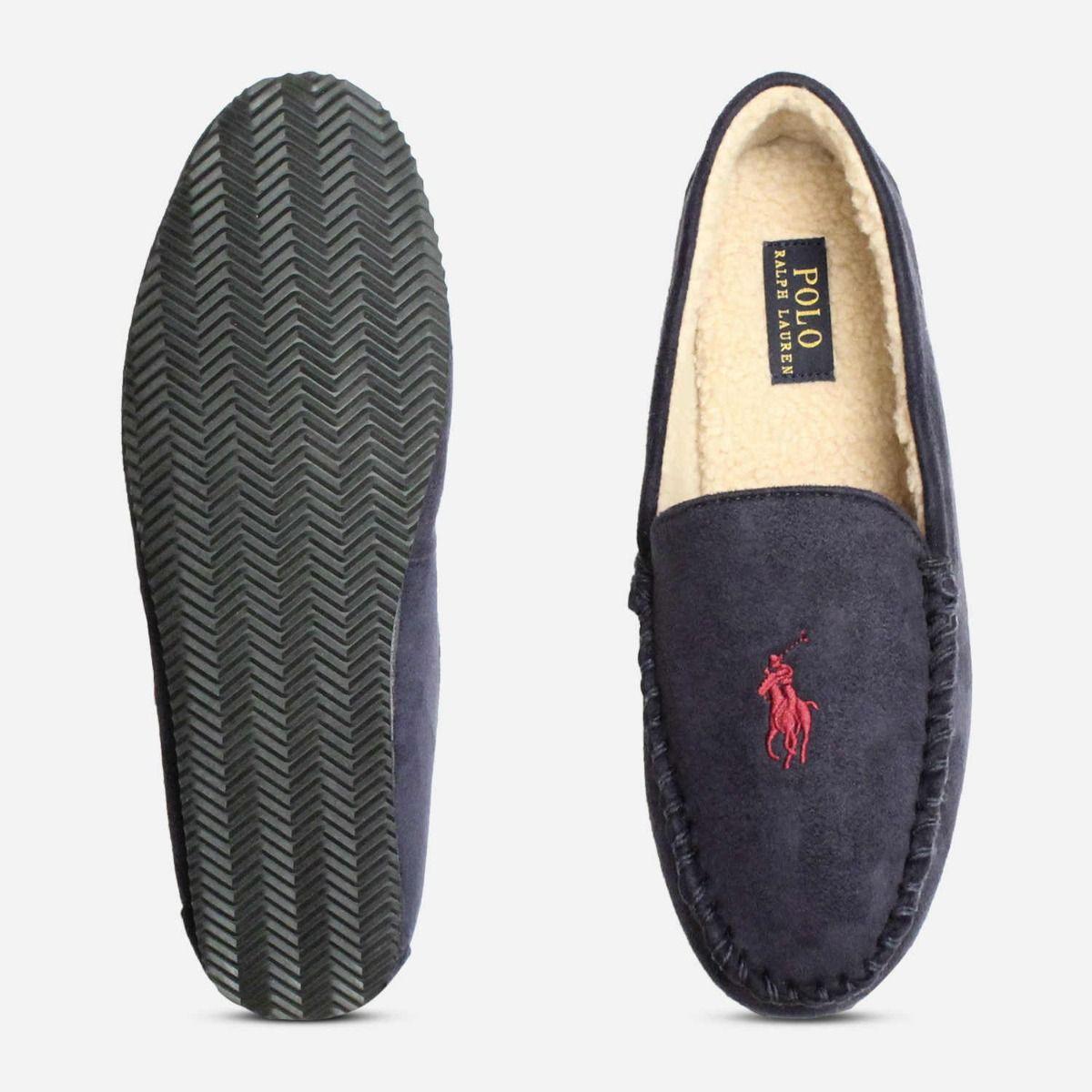 Ralph Lauren Polo Dezi 4 Navy Blue Mens