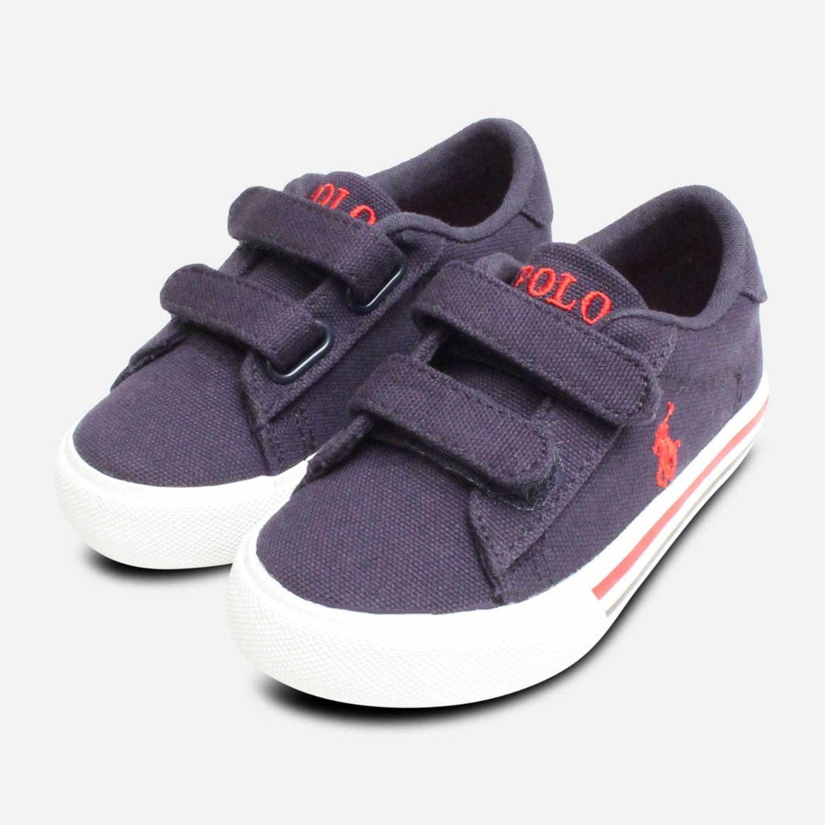 Ralph Lauren Polo Kids Shoes in Navy