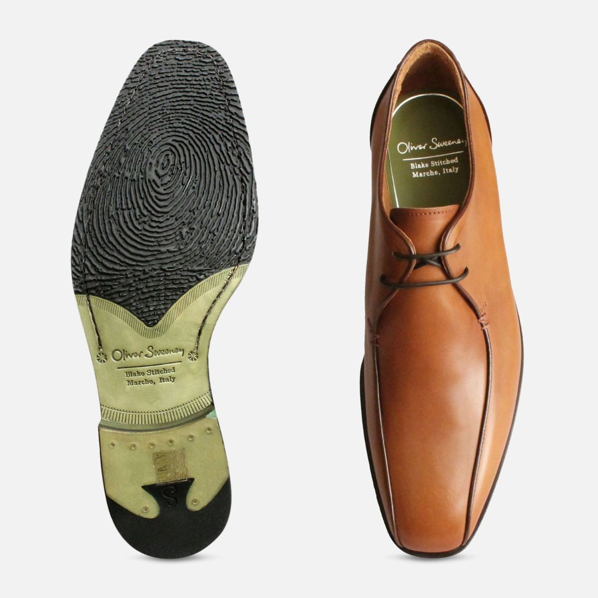 Brown Italian Shoes by Oliver Sweeney