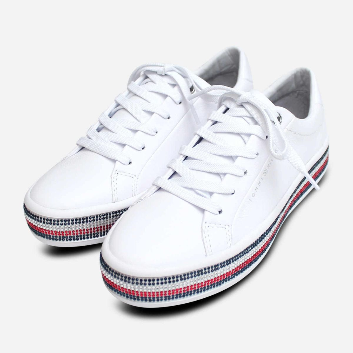 Tommy Hilfiger Jeweled Sparkle Sneakers