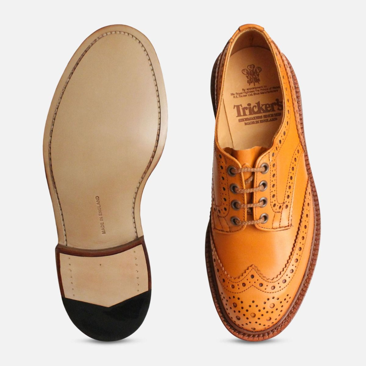 Trickers Bourton Acorn Brogue Shoes